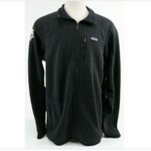 Patagonia Budweiser Logo Men's Jacket Sz 2XL Black